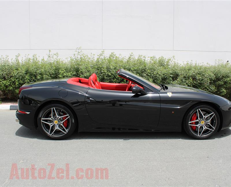 FERRARI CALIFORNIA T, V8- 2015- BLACK- 3 500 KM- GCC