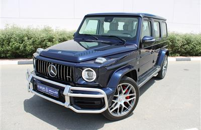 MERCEDES-BENZ G63 AMG, V8- 2019- DARK BLUE- 8 000 KM- GCC