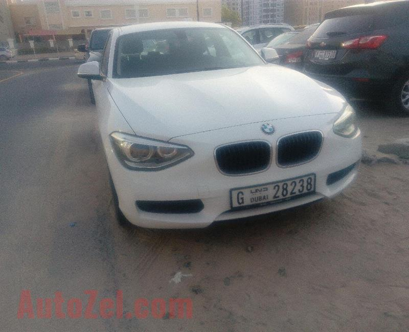 BMW 116i, no accident, GCC, FSH