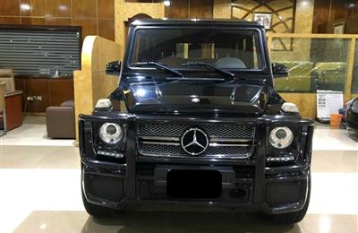 MERCEDES-BENZ G65, V8- 2013- BLACK- 19 000 KM- GCC
