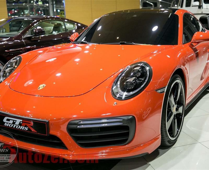 PORSCHE 911 TURBO | GCC | 2017 | WARRANTY
