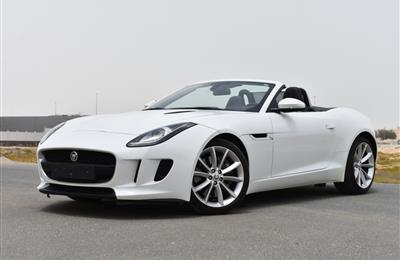 Jaguar F-Type Coup Supercharge 2016 Under Warranty Low km