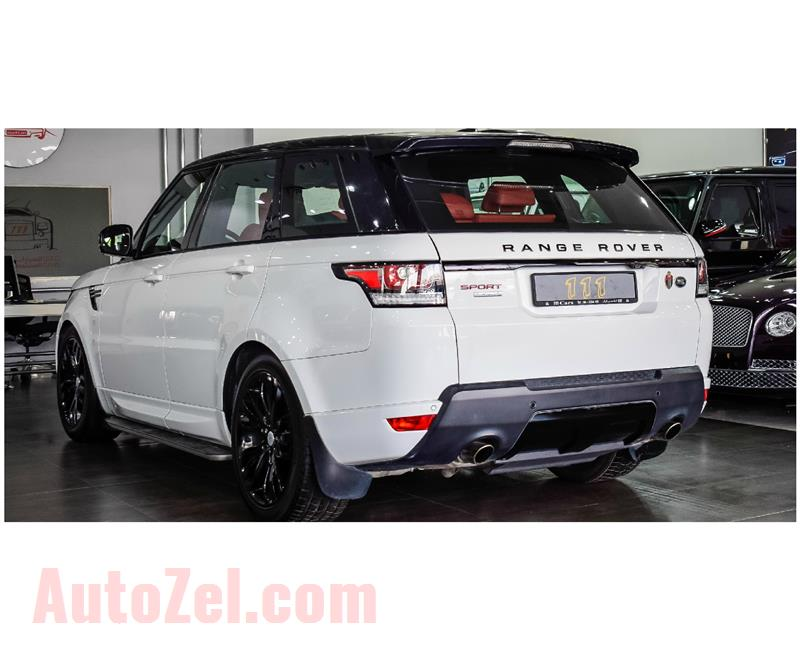 Range Rover Sport Supercharged With Sport Autobiography Badge / GCC Specifications