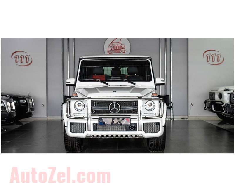 MERCEDES-BENZ G63 AMG V8 Biturbo / GCC Specifications / 5 Years Warranty