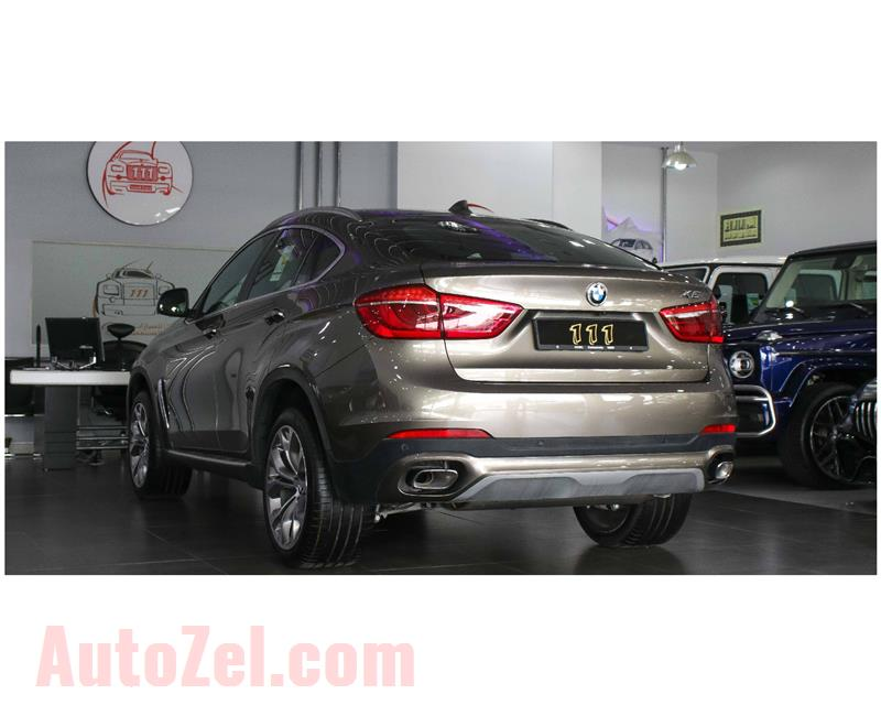 BMW X6 Xdrive 35i 3.0L-V6 / GCC Specifications / Warranty