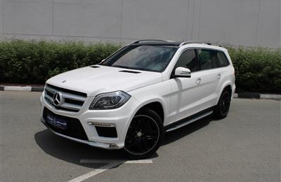 MERCEDES-BENZ GL500 AMG 4MATIC, V8- 2016- WHITE- 55 000...