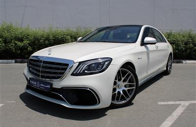 MERCEDES-BENZ S550 AMG, V8- 2016- WHITE- 58 000 KM-...