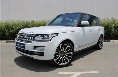 RANGE ROVER VOGUE AUTOBIOGRAPHY, V8- 2016- WHITE- 52 000...