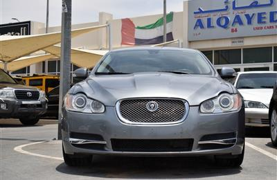 JAGUAR XF, V8- 2009- GREY- 154 000 KM- GCC