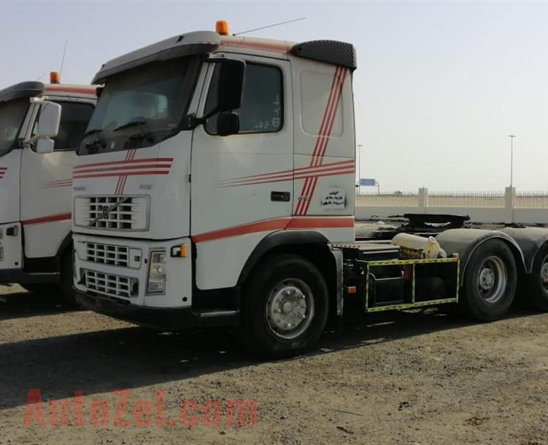 2 Trucks Volvo 6X4 FH 610 for Sell in Dubai Ras Al Khor