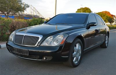 MAYBACH- 2007- BLACK- 56 000 KM- GCC SPECS