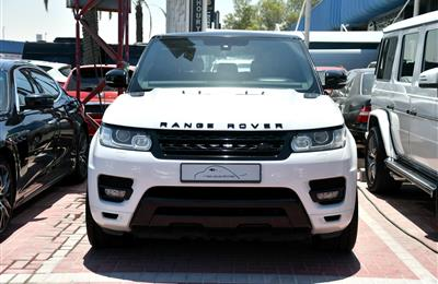 RANGE ROVER SUPERCHARGED, V8- 2014- WHITE- 128 000 KM-...