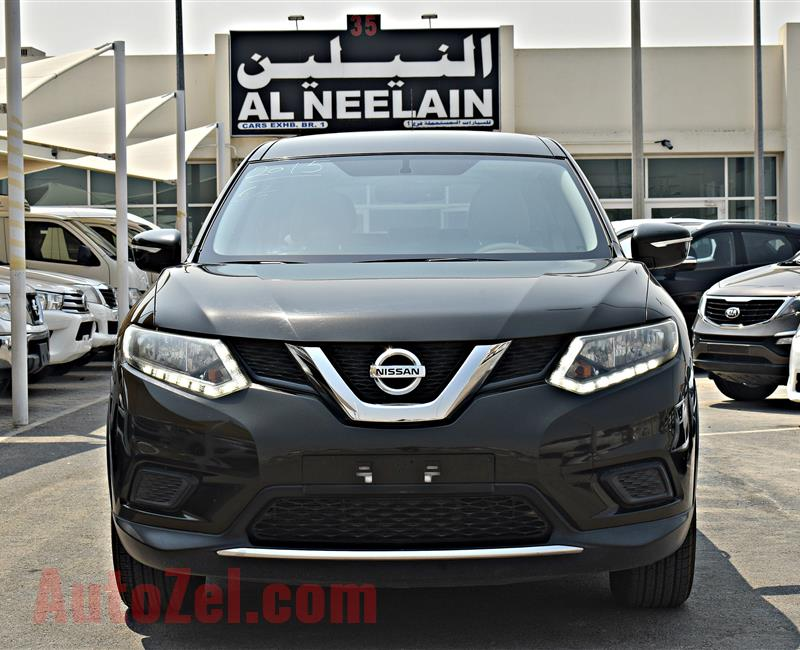 NISSAN X TRAIL 2.0 MODEL 2015 - GREY - 151,000 KM - V4 - GCC