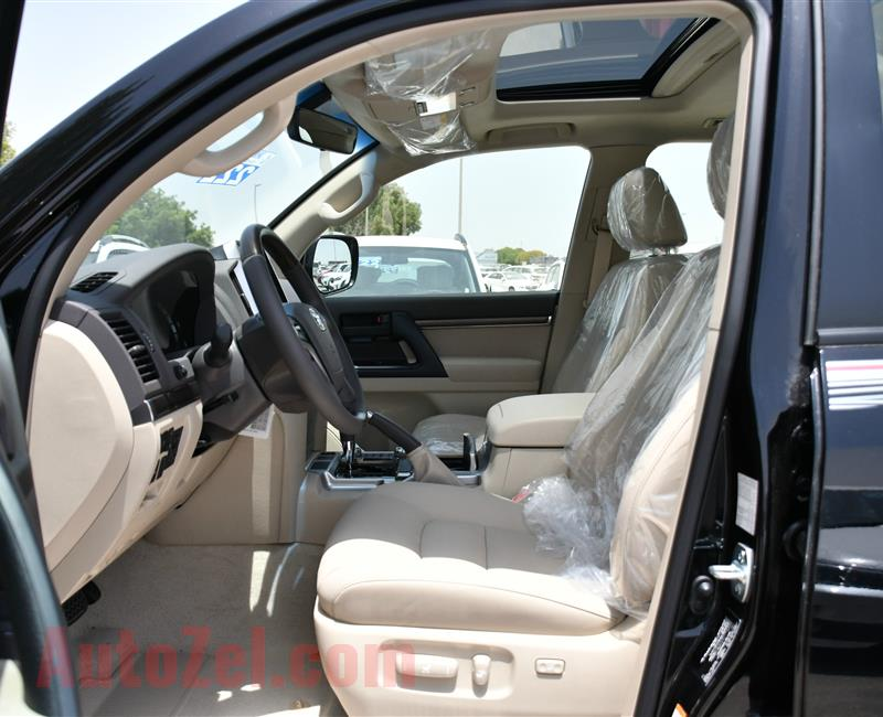 BRAND NEW TOYOTA LAND CRUISER GXR, V8- 2019- BLACK- ZERO KM- GCC