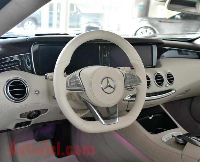 MERCEDES-BENZ S500- KIT S63 AMG- 2015- SILVER- 88 000 KM- AMERICAN SPECS