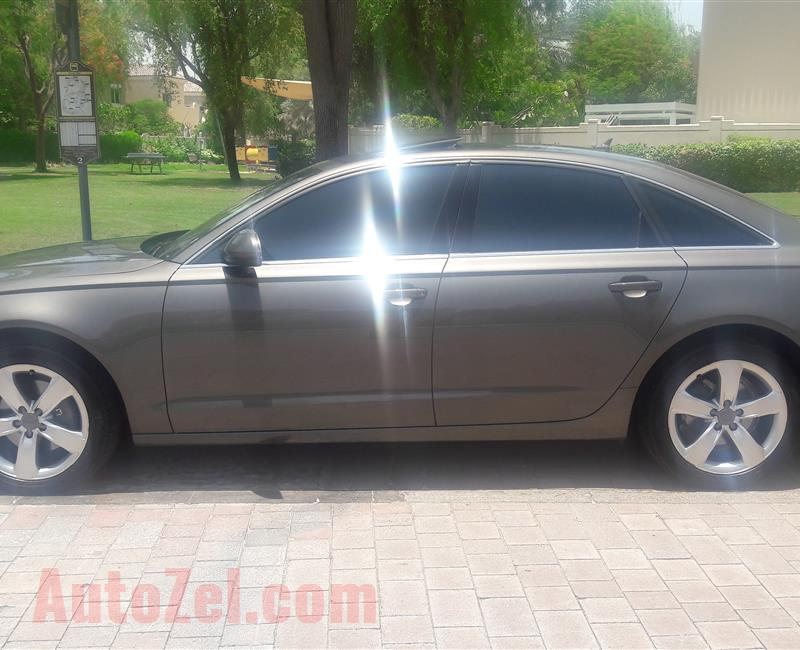 Audi A6 , GCC  Top of Range  , Warranty and service