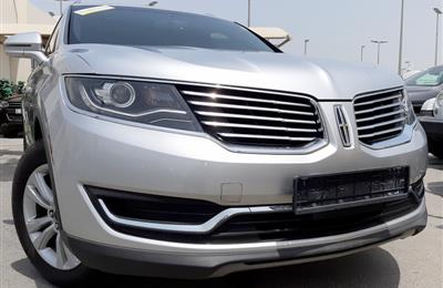 LINCOLN MKX- 2016- WHITE- 45 000 KM- GCC SPECS