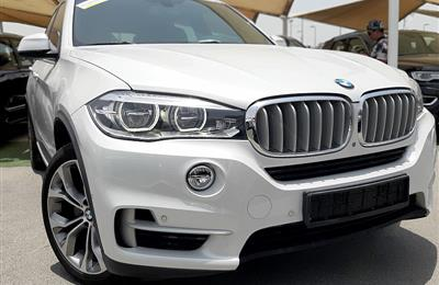 BMW X5- 2016- WHITE- 45 000 KM- GCC SPECS