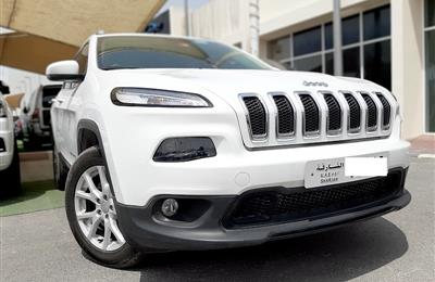 JEEP GRAND CHEROKEE- 2016- WHITE- 51 950 KM- GCC SPECS