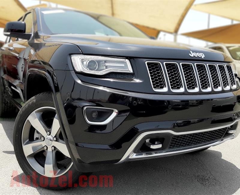 BRAND NEW JEEP GRAND CHEROKEE- 2016- BLACK- GCC SPECS