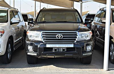 TOYOTA LAND CRUISER GXR MODEL 2014 - BLACK - 93,000 KM -...