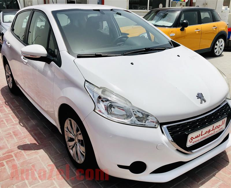 Peugeot 2018 2015 very good condition warranty