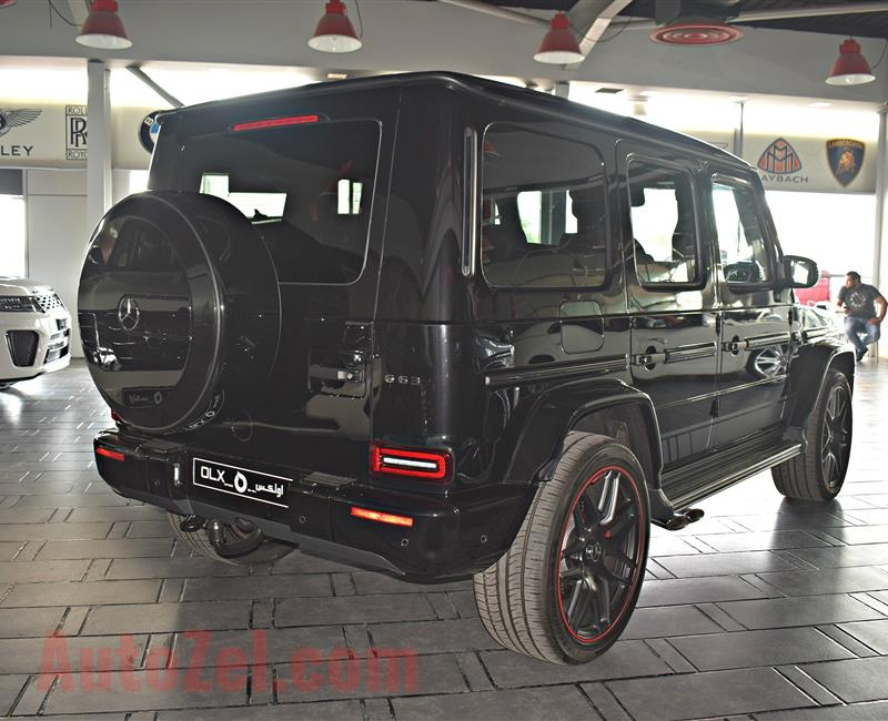 MERCEDES G63 EDITION- 2019 - BLACK - 0 KM - V8 - GERMAN SPECS