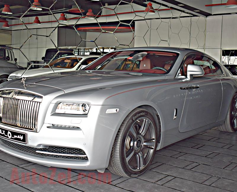 ROLLS ROYCE MODEL 2016 - SILVER  - 10,000 KM -  V12 - GCC