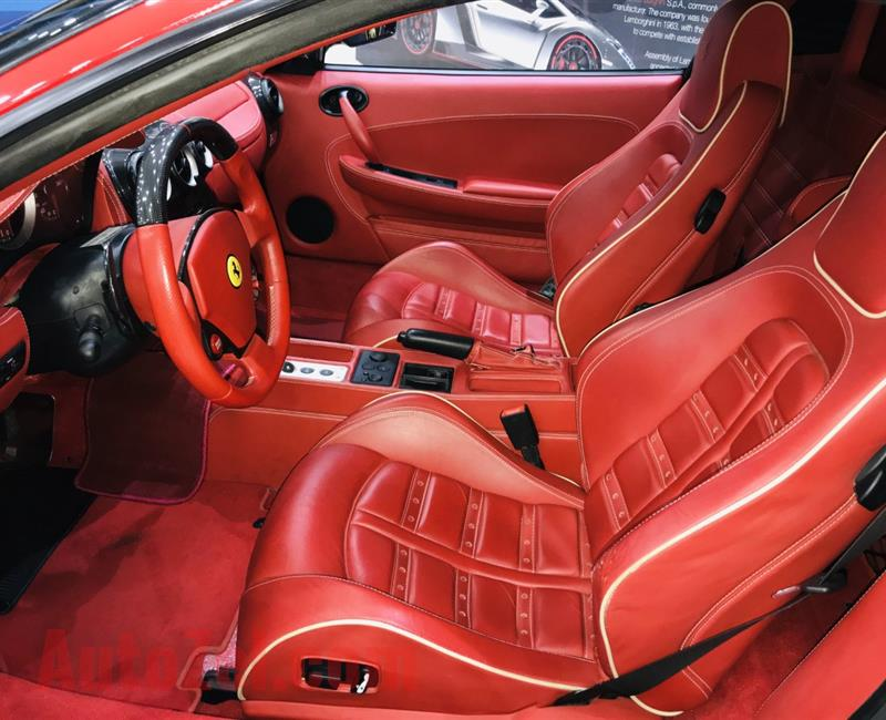 FERRARI F430, V8- 2009- RED- 24 000 KM- GCC