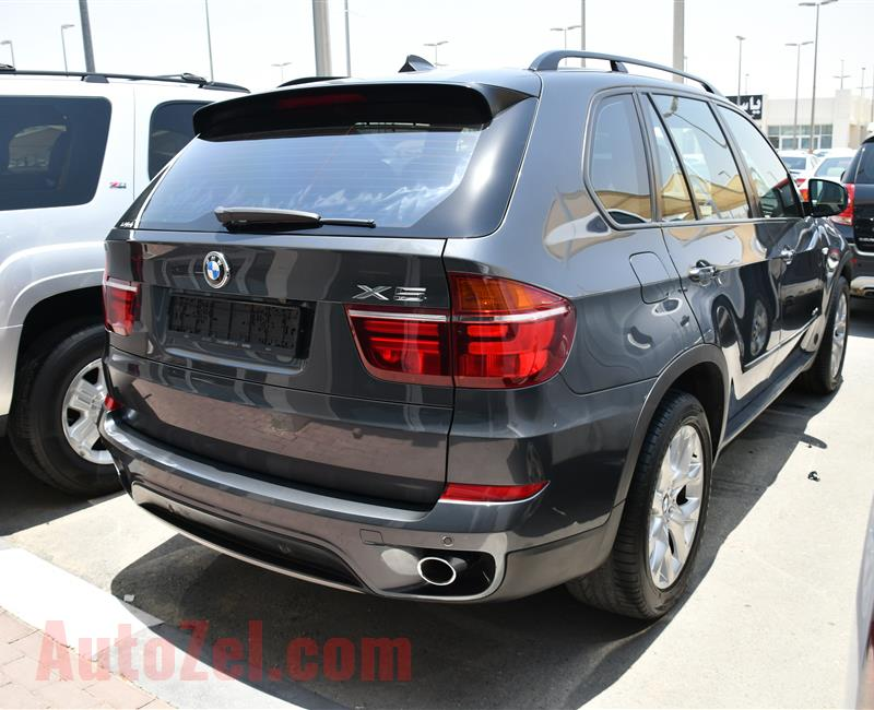 BMW X5- 2013- GRAY- 160 000 KM- GCC SPECS