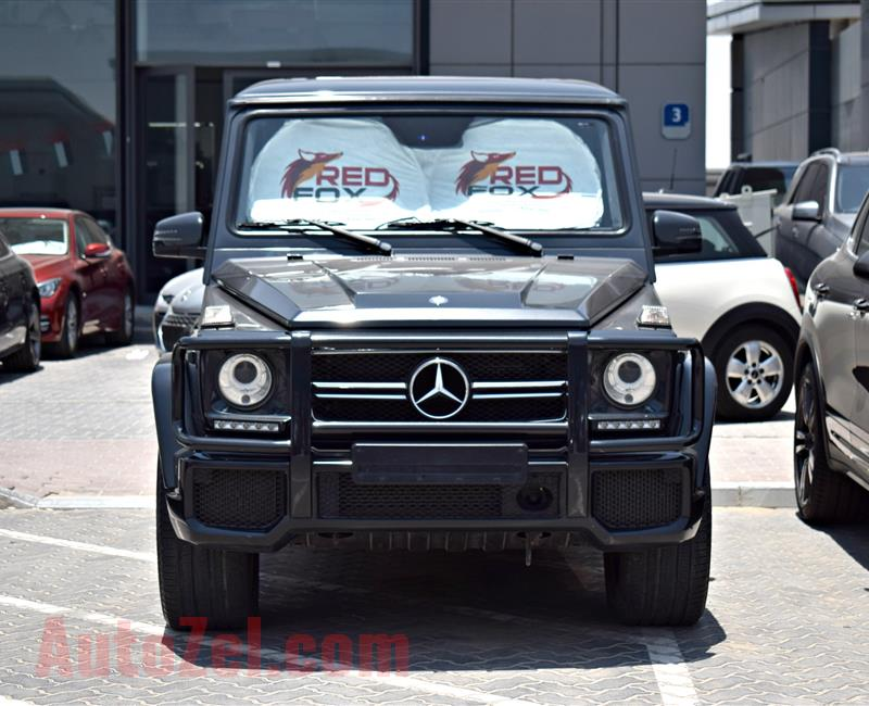 MERCEDES-BENZ G63 AMG, V8- 2014- GREY- 90 000 KM- GCC