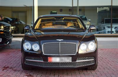 BENTLEY CONTINENTAL FLYING SPUR, V12- 2014- BROWN- 50 000...