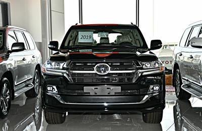 TOYOTA LAND CRUISER GXR MODEL 2019 - BLACK - ZERO KM - V8...