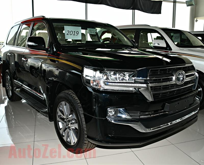TOYOTA LAND CRUISER GXR MODEL 2019 - BLACK - ZERO KM - V8 - GCC
