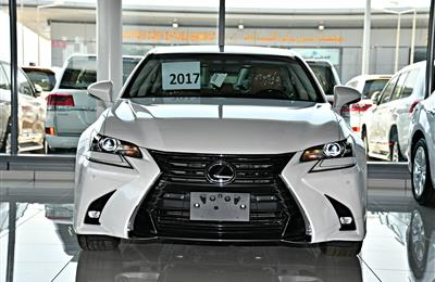 LEXUS GS 350 MODEL 2017 - WHITE - ZERO KM - V6 - GCC