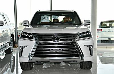 LEXUS LX 570 MODEL 2019 - WHITE - ZERO KM - V8 - GCC