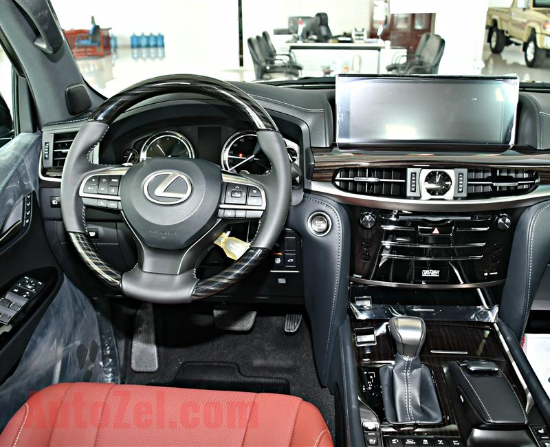 LEXUS LX 570 MODEL 2019 - BLACK - ZERO KM - V8 - GCC