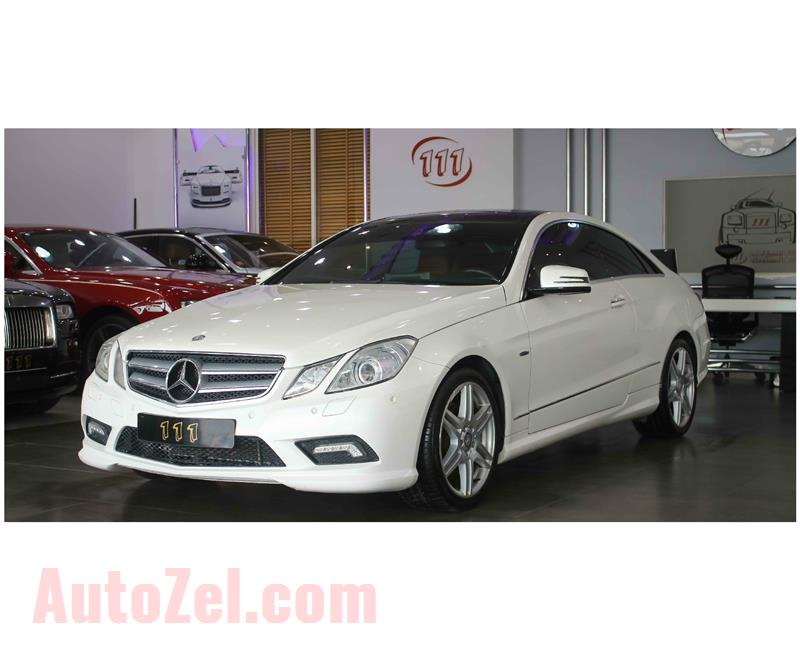 Mercedes-Benz E 350 / GCC Specifications