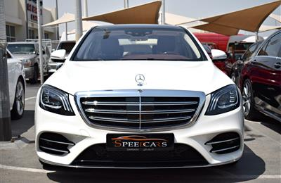 BRAND NEW MERCEDES-BENZ S560, V8- 2018- WHITE- ZERO KM-...