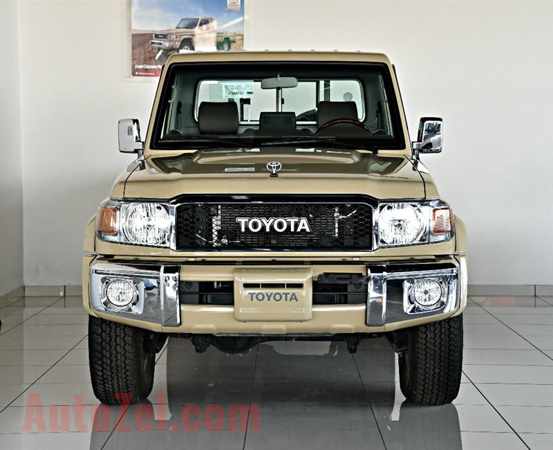 TOYOTA LAND CRUISER PICK UP MODEL 2019 - BEIGE - ZERO KM - GCC