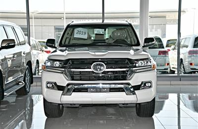 TOYOTA LAND CRUISER  GXR MODEL 2019 - WHITE - ZERO KM - V8...