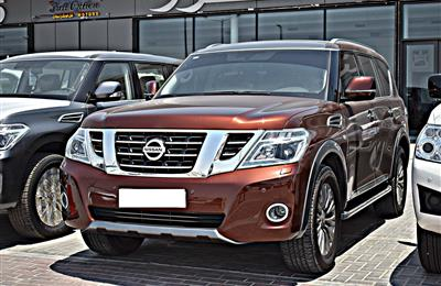 NISSAN PATROL TITANIUM MODEL 2019 - ORANGE - ZERO KM -  V8...