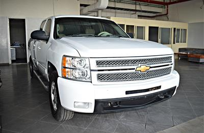 CHEVROLET SILVERADO  MODEL 2012 - WHITE - 250,000 KM - V8...