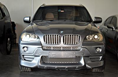 BMW X5 MODEL 2008 - GREY - 188,000 KM - V8 - GCC