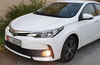 Toyota Corolla 2017 SE+ 2.0 Gcc extremely clean