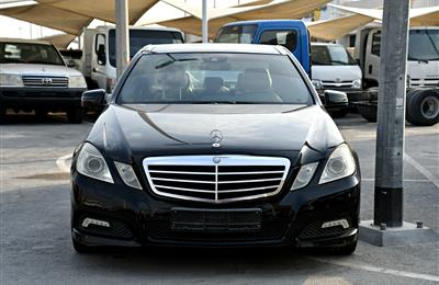 MERCEDES-BENZ E300- 2010- BLACK- 144 000 KM- GCC SPECS