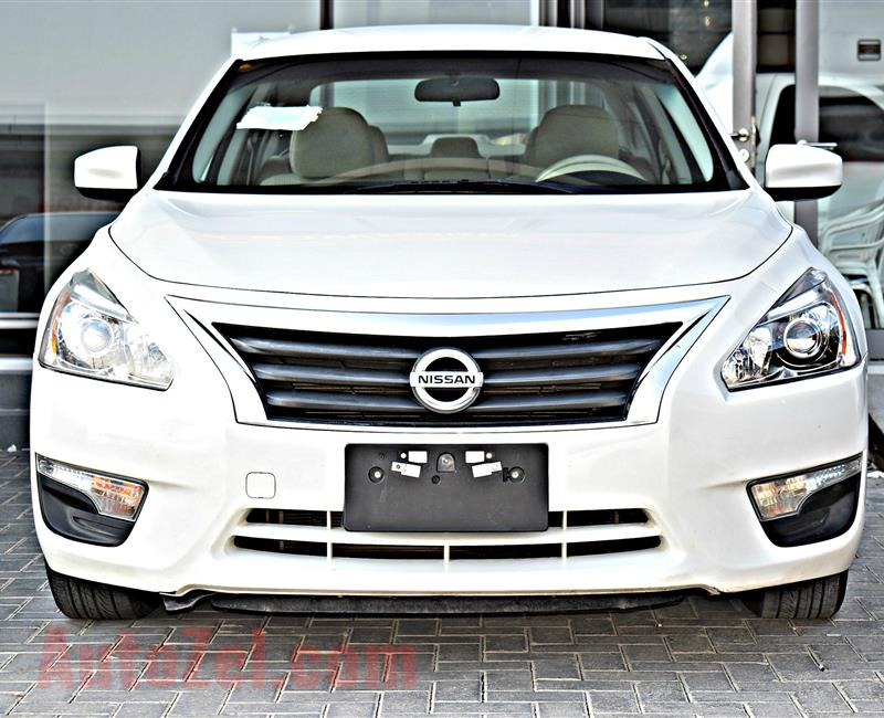 NISSAN ALTIMA 2.5 S MODEL 2016 - WHITE - 127.000 KM - V4 - GCC