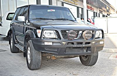 NISSAN PATROL SAFARI MODEL 2001 - BLACK - 250,000 KM - V6 ...