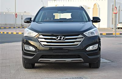 HYUNDAI SANTA FE  3.3L MODEL 2016 - BLACK - 101,000 KM -...