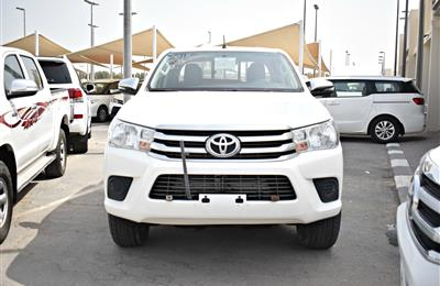 TOYOTA HILUX 4X4 PICK-UP, V4- 2018- WHITE- 67 000 KM- GCC,...